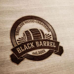 Black Barrel Logo