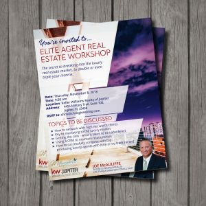 Elite Agent Workshop Leaflet